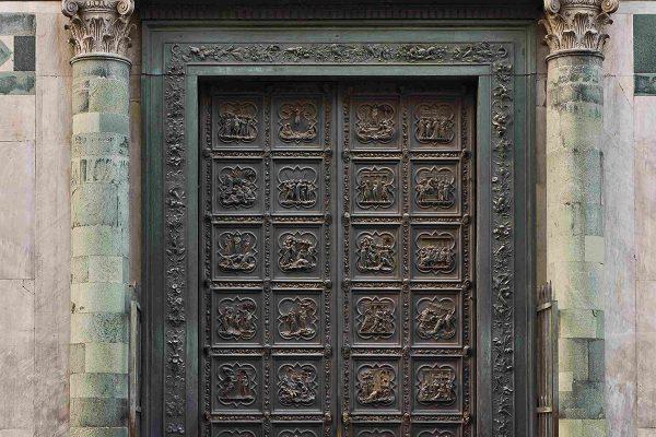 Porta Nord del Battistero di Firenze di L.Ghiberti